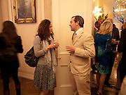 NICOLA DE SAVARY; TIM WOOD, The launch of PINTA 2010. The Argentine AmbassadorÕs Residence, 49 Belgrave Square, London SW1. 20 April 2010.<br /> NICOLA DE SAVARY; TIM WOOD, The launch of PINTA 2010. The Argentine Ambassador's Residence, 49 Belgrave Square, London SW1. 20 April 2010.