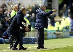 Brighton & Hove Albion Manager Chris Hughton and Sheffield Wednesday Manager Carlos Carvalhal - Mandatory by-line: Robbie Stephenson/JMP - 13/05/2016 - FOOTBALL - Hillsborough - Sheffield, England - Sheffield Wednesday v Brighton and Hove Albion - Sky Bet Championship Play-off Semi Final first leg