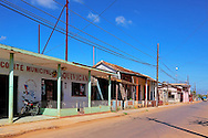 Street in Quivican, Mayabeque, Cuba.