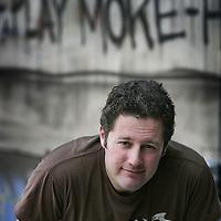 Nederland.Amsterdam.3 april 2007..Robin Blitzblum, creative director bij MTV Networks. Lid Reclame Code Commissie.