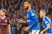 Rangers Defender Connor Goldson of Rangers FC during the Betfred Scottish League Cup semi-final match between Rangers and Heart of Midlothian at Hampden Park, Glasgow, United Kingdom on 3 November 2019.
