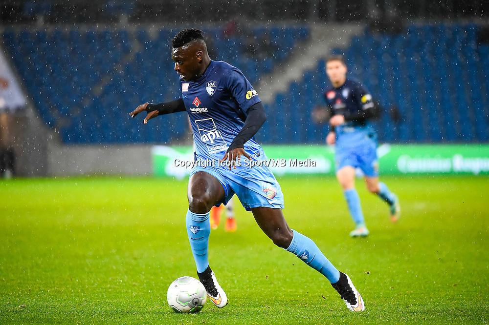 Joseph MENDES  - 12.12.2014 - Le Havre / Laval - 17eme journee de Ligue 2 <br /> Photo : Fred Porcu / Icon Sport