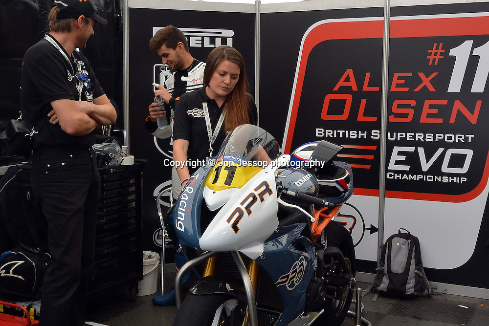 #11 Alex Olsen Power Projects/T3 Racing Triumph British Supersport