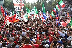 08.09.2014, Autodromo di Monza, Monza, ITA, FIA, Formel 1, Grand Prix von Italien, Renntag, im Bild Tifosi italiani // during the race day of Italian Formula One Grand Prix at the Autodromo di Monza in Monza, Italy on 2014/09/08. EXPA Pictures © 2014, PhotoCredit: EXPA/ Eibner-Pressefoto/ Cezaro<br /> <br /> *****ATTENTION - OUT of GER*****