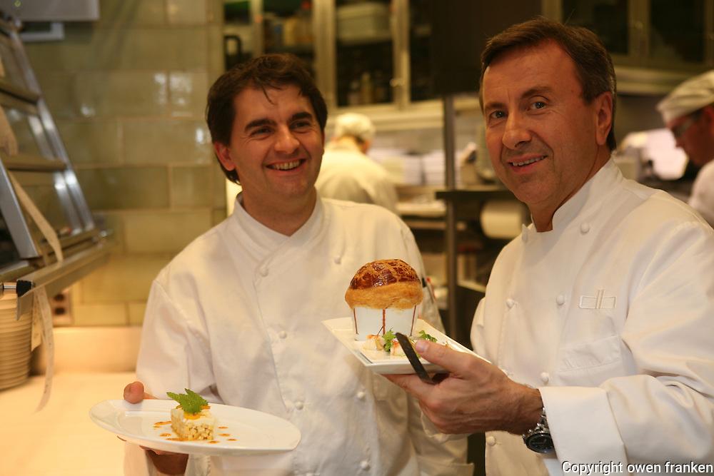 Chefs Daniel Boulud, Jean Francois Bruel....