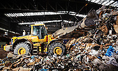 SITA Recycling Volvo wheel loader