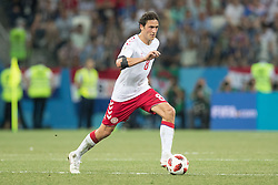 July 1, 2018 - Nizhny Novgorod, Russia - Thomas Delaney of Denmark during the 2018 FIFA World Cup Russia Round of 16 match between Croatia and Denmark at Nizhny Novgorod Stadium on July 1, 2018 in Nizhny Novgorod, Russia. (Credit Image: © Foto Olimpik/NurPhoto via ZUMA Press)