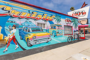 Mural Wall Art in Downtown Oceanside