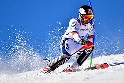 LUSCOMBE Braydon, LW2, CAN, Slalom at the WPAS_2019 Alpine Skiing World Cup, La Molina, Spain