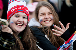 Fans of Slovenia during Flying Hill Individual competition at 2nd day of FIS Ski Jumping World Cup Finals Planica 2012, on March 16, 2012, Planica, Slovenia. (Photo by Vid Ponikvar / Sportida.com)