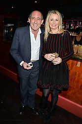 ANT & EMMA FANE at a party in aid of the Youth at Risk charity held at Raffles, 287 King's Road, London on 27th November 2013.
