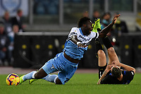 Felipe Caicedo of Lazio and Marcelo Brozovic of Internazionale compete for the ball during the Serie A 2018/2019 football match between SS Lazio and FC Internazionale at stadio Olimpico, Roma, October, 29, 2018 <br />  Foto Andrea Staccioli / Insidefoto