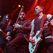American rock band Pop Evil open for Five Finger Death Punch at Glasgow's O2 Academy (PLEASE DO NOT REMOVE THIS CAPTION)<br /> This image is intended for portfolio use only.. Any commercial or promotional use requires additional clearance. <br /> &copy; Copyright 2014 All rights protected.<br /> first use only<br /> contact details<br /> Stuart Westwood <br /> 07896488673<br /> stuartwestwood44@hotmail.com<br /> no internet usage without prior consent. <br /> Stuart Westwood reserves the right to pursue unauthorised use of this image . If you violate my intellectual property you may be liable for damages, loss of income, and profits you derive from the use of this image.