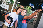 Students at the NW Film Center summer camp