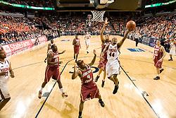 Virginia guard Sean Singletary (44) shoots against BC.  The Virginia Cavaliers men's basketball team defeated the Boston College Golden Eagles 84-66 at the John Paul Jones Arena in Charlottesville, VA on January 19, 2008.
