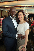 April 7, 2012 New York, NY:  (L-R) Richard Wayner and Ayanna Wayner attend the 62nd Annual Women of Distinction Spirit Awards Luncheon & Fashion Show sponsored by The Links, Inc- Greater New York Chapter held at Pier Sixty at Chelsea Piers on April 7, 2012 in New York City...Established in 1946, The Links,  incorporated, is one of the nation's oldest and largest volunteer service of women, linked in friendship, are committed to enriching, sustaining and ensuring the culture and economic survival of African-American and persons of African descent . The Links Incorporated is a not-for-profit organization, which consists of nearly 12, 000 professional women of color in 272 located in 42 states, the District of Columbia and the Bahamas. (Photo by Terrence Jennings)