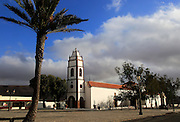 Historic church, Santo Domingo de Guzman, Tetir village, Fuerteventura, Canary Islands, Spain