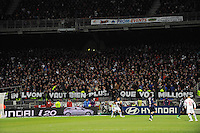 SUPPORTERS LYON - 08.02.2015 - Lyon / Paris Saint Germain - 24eme journee de Ligue 1<br /> Photo : Jean Paul Thomas / Icon Sport
