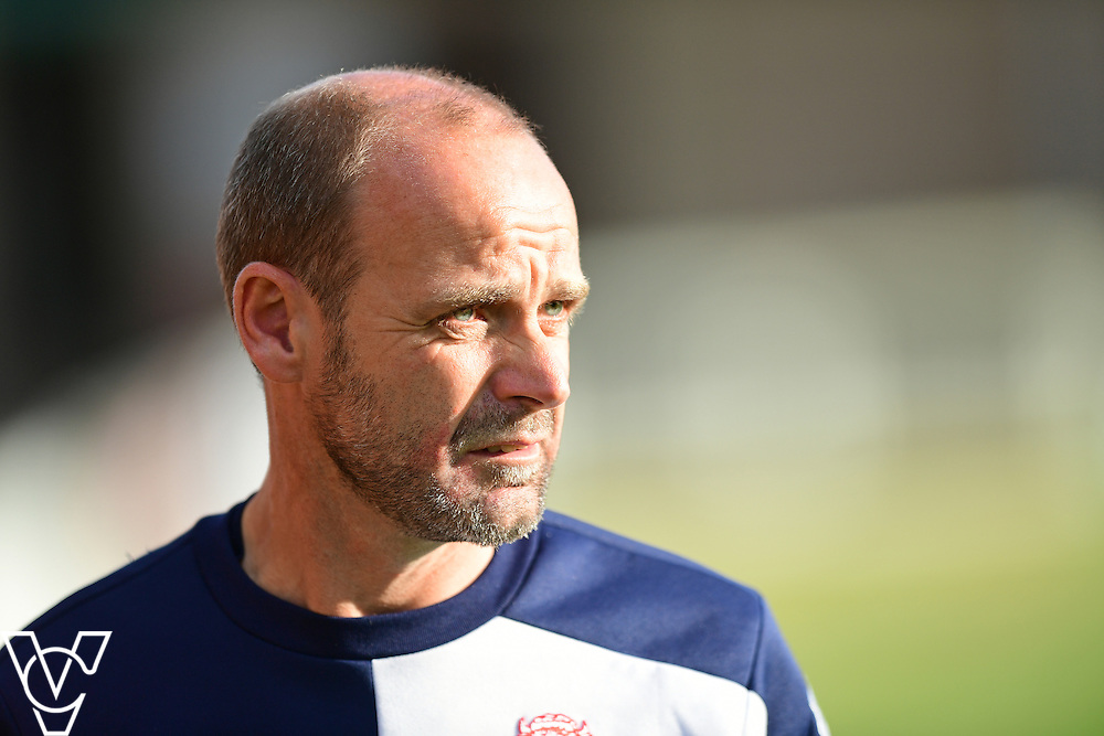 Lincoln City&rsquo;s academy manager Damian Froggatt<br /> <br /> Lincoln City under 18s Vs Leicester City under 18s at Sincil Bank, Lincoln.<br /> <br /> Picture: Chris Vaughan/Chris Vaughan Photography<br /> <br /> Date: July 28, 2016