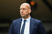 Reading manager Jaap Stam during the EFL Sky Bet Championship match between Nottingham Forest and Reading at the City Ground, Nottingham, England on 22 April 2017. Photo by Jon Hobley.