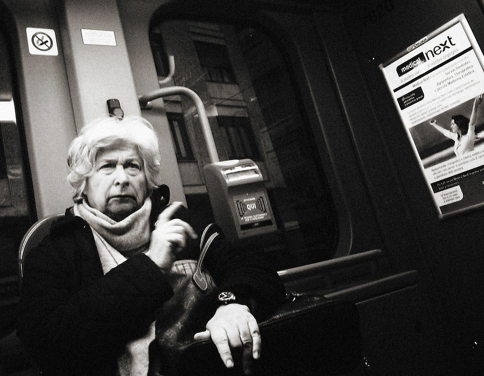 Street Photography, Italy, Lombardy, Milan, Milano