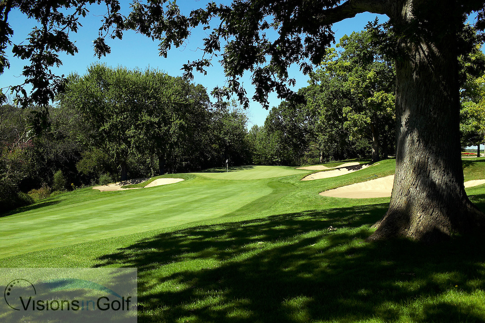 040907 Chicago Il  / The 16th green on the no 4 Dubsdread golfcourse at Cog Hill country club<br /> Photo Visions In Golf/Christer Hoglund