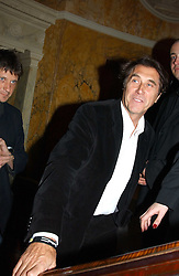 BRYAN FERRY at a party to celebrate Pamela Anderson's new role as spokesperson and newest face of the MAC Aids Fund's Viva Glam V Campaign held at Home House, Portman Square, London on 21st April 2005.<br />