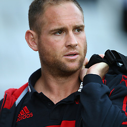 DURBAN, SOUTH AFRICA - MARCH 26: Andy Ellis of the BNZ Crusaders during the Super Rugby match between Cell C Sharks and BNZ Crusaders at Growthpoint Kings Park on March 26, 2016 in Durban, South Africa. (Photo by Steve Haag)<br /> <br /> images for social media must have consent from Steve Haag