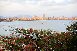 INDIA MUMBAI 28MAY10 - General view of Chowpatti and Marina Drive and the Mumbai skyline from Malabar Hill in Mumbai, India...jre/Photo by Jiri Rezac..© Jiri Rezac 2010