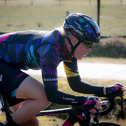13-03-2016: Wielrennen: Acht van Dwingeloo: Dwingeloo<br /> DWINGELOO (NED) wielrennen<br /> Tiffany Cromwell
