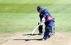 Tammy Beaumont of England Women hits a straight drive - Mandatory by-line: Robbie Stephenson/JMP - 05/07/2017 - CRICKET - County Ground - Bristol, United Kingdom - England Women v South Africa Women - ICC Women's World Cup Group Stage