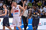 Dustin Hogue, Tomas Ress<br /> Dolomiti Energia Aquila Basket Trento - Umana Reyer Venezia<br /> Lega Basket Serie A 2016/2017<br /> Trento 05/02/2017<br /> Foto Ciamillo-Castoria