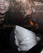 03.11.2006. LONDON<br /> <br /> SCARLETT JOHANSSON DRIVING THROUGH SOHO WITH A SEE THROUGH PLASTIC BAG OVER HEAD AND ROLLERS IN HER HAIR. SHE HID BEHIND ANOTHER PASSENGER WHO SWORE AT THE PHOTOGRAPHERS.<br /> <br /> BYLINE: EDBIMAGEARCHIVE.CO.UK<br /> <br /> *THIS IMAGE IS STRICTLY FOR UK NEWSPAPERS AND MAGAZINES ONLY*<br /> *FOR WORLD WIDE SALES AND WEB USE PLEASE CONTACT EDBIMAGEARCHIVE.CO.UK - 0208 954 5968*