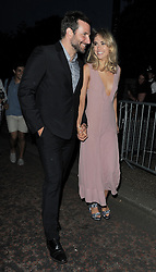Suki Waterhouse and Bradley Cooper leaving the Serpentine Gallery Summer Party in Hyde Park, London, UK. 01/07/14<br />BYLINE MUST READ : GOTCHAIMAGES.COM<br /><br />Copyright by © Gotcha Images Ltd. All rights reserved.<br />Usage of this image is conditional upon the acceptance <br />of Gotcha Images Ltd, terms and conditions available at<br />www.gotchaimages.com
