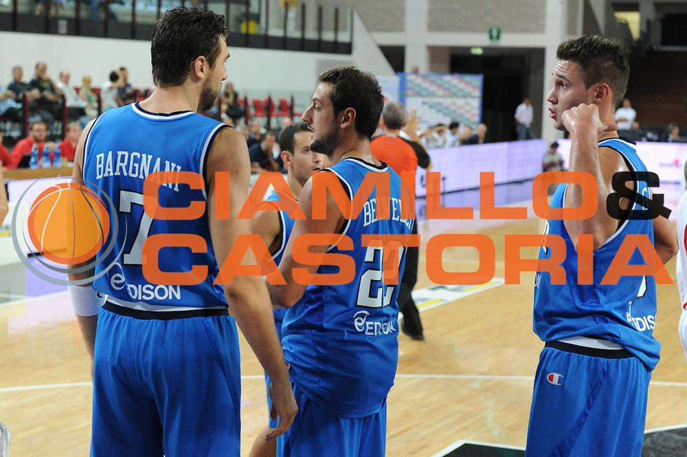 DESCRIZIONE : Rimini Trofeo Tassoni Italia Polonia Italy Poland<br /> GIOCATORE : Andrea Bargnani Marco Belinelli Danilo Gallinari<br /> CATEGORIA : ritratto esultanza<br /> SQUADRA : Nazionale Italia Uomini <br /> EVENTO : Trofeo Tassoni<br /> GARA : Italia Polonia<br /> DATA : 13/08/2011<br /> SPORT : Pallacanestro<br /> AUTORE : Agenzia Ciamillo-Castoria/GiulioCiamillo<br /> Galleria : Fip Nazionali 2011 <br /> Fotonotizia : Rimini Trofeo Tassoni Italia Polonia Italy Poland<br /> Predefinita :