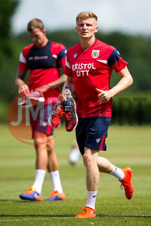 Taylor Moore looks on as Bristol City return for pre-season training ahead of the 2017/18 Sky Bet Championship Season - Rogan/JMP - 30/06/2017 - Failand Training Ground - Bristol, England - Bristol City Training.