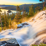 Sunrise at Eagle Falls near Lake Tahoe in California