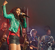 OXFORDSHIRE, UK - JULY 10: Beverley Knight performs on stage at The Cornbury Music Festival on July 10th, 2016 in Oxfordshire, United Kingdom. (Photo by Philip Ryalls)**Beverley Knight