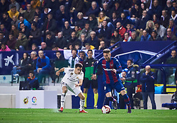 February 24, 2019 - Valencia, U.S. - VALENCIA, SPAIN - FEBRUARY 24: Ruben Rochina, midfielder of Levante UD with the ball during the La Liga match between Levante UD and Real Madrid CF at Ciutat de Valencia stadium on February 24, 2019 in Valencia, Spain. (Photo by Carlos Sanchez Martinez/Icon Sportswire) (Credit Image: © Carlos Sanchez Martinez/Icon SMI via ZUMA Press)