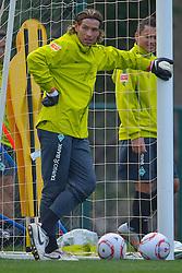 07.01.2011, Trainingsgelaende, Belek, TUR, Werder Bremen Trainingslager Belek Tuerkei 2011 Day04, im Bild Keeper Tim Wiese ( Werder #01)    EXPA Pictures © 2011, PhotoCredit: EXPA/ nph/  Kokenge       ****** out of GER / SWE / CRO ******