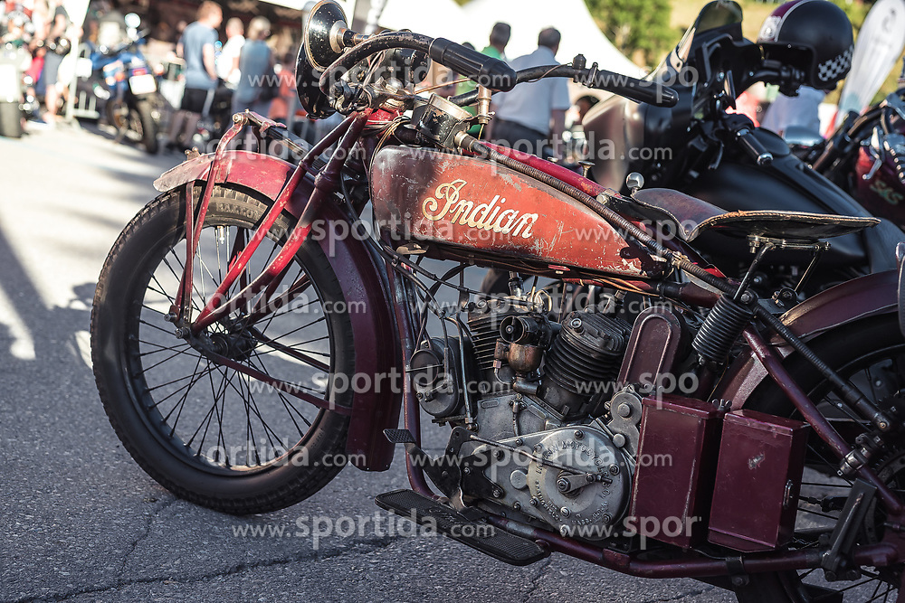 28.06.2019, Schladming, AUT, Rock the Roof 2019, im Bild Indian motrorrad // Indian Motorcycle during the Rock the Roof Biker Meeting in Schladming, Austria on 2019/06/28. EXPA Pictures © 2019, PhotoCredit: EXPA/ JFK