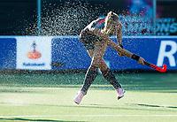 BREDA -   Caia Van Maasakker (Ned) , die haar 150ste interland speelde,   tijdens   Nederland-Japan bij de 4 Nations Trophy dames 2018 .  COPYRIGHT KOEN SUYK
