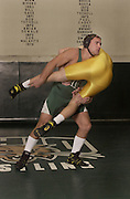 14446Wrestler for the cover of the Media Guide: action shot
