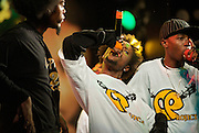 The popular rap kreyol group C-Project performs at a music festival in Port-au-Prince, Haiti, on July 20, 2008. The popularity of rap kreyol is growing in Haiti, but has not developed much of an international following beyond the Haitian diaspora in the United States.