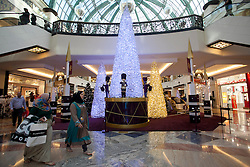 Emirates mall all decked out for Christmas, Dubai, UAE, December 18, 2012. Photo by Silvia Baron / i-Images.