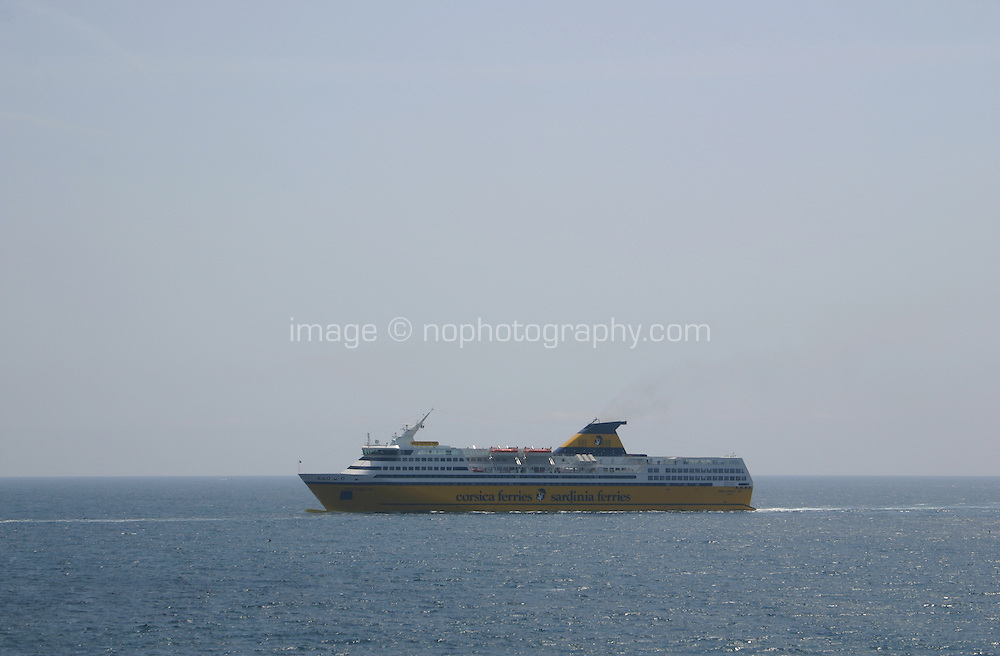 Corsica ferry from Nice France