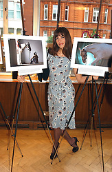 LISA B at a reception in aid of Brooke Hospital for Animals held at Montes, Sloane Street, London SW1 on 22nd June 2004.