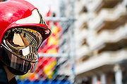 May 20-24, 2015: Monaco Grand Prix - Marshal helmet detail
