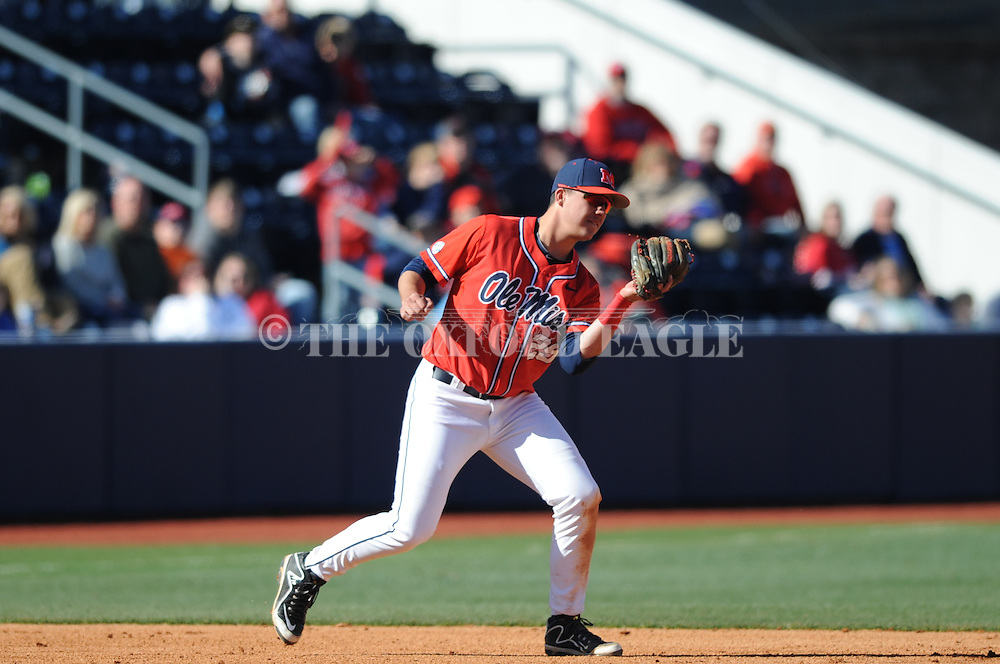 Ole Miss' Colby Bortles (25) against Stetson at Oxford-University Stadium in Oxford, Miss. on Saturday, March 7, 2015. Ole Miss won 8-3 in game 1 of a doubleheader to improve to 7-5.