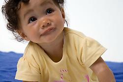 Portrait of baby girl,